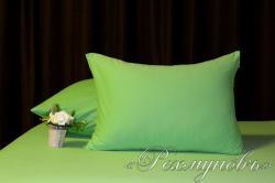 Купить зеленые трикотажные наволочки на молнии в Пензе