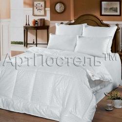 Одеяло из лебяжьего пуха (в тике, всесезонное)  ТМ АртПостель